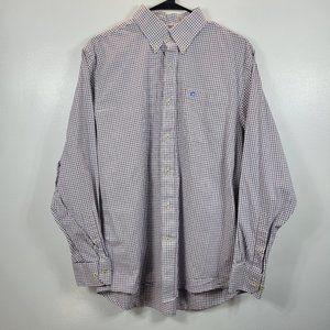 Southern Tide Men's Plaid Long Sleeve Cotton Shirt